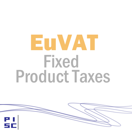 EuVAT Fixed Product Taxes