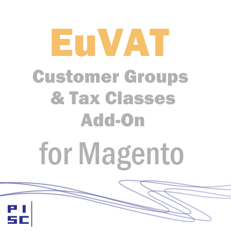 EU VAT Customer Groups and Tax Classes Add-On for Magento